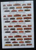 TUVA(POSTA LOCALA RUSIA)-Locomotive Moderne-4x1M/Sh..- TR 031A, Fauna, Asia