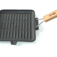 Grill fonta cu coada 26*26cm Handy KitchenServ