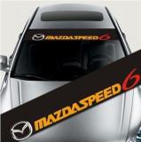 Sticker parasolar auto MAZDASPEED (126 x 16cm) ManiaStiker, AutoLux