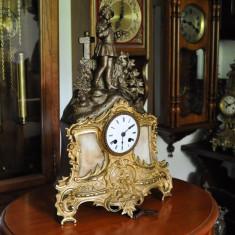 Ceas de semineu cu pendula Japy Freres Annees - 1823