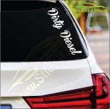 Dirty Diesel Model 2 -Stickere Auto-Cod:ESV-241 -Dim   20 cm. x 4.8 cm.
