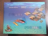 Album filatelic 2012 pești