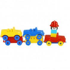 Trenulet cu masinute