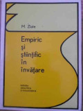 EMPIRIC SI STIINTIFIC IN INVATARE-M. ZLATE