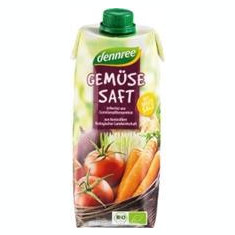 Suc de Legume Bio Vegan Dennree 500ml Cod: 701594