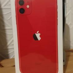 Vand iPhone 11 rosu 128gb SIGILAT