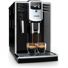Espressor automat Philips EP5310/10, sistem de spumare a laptelui, 3 bauturi, filtru AquaClean, rasnita ceramica, optiune cafea macinata, Negru