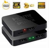 Splitter HDMI 1x intrare, 2x iesiri UHD 2160p
