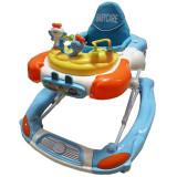 Premergator si balansoar pentru copii BabyCare PBCM-1, Albastru