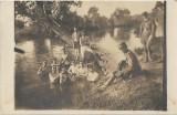B359 Militari romani Primul Razboi Mondial 1918 Sf Gheorghe fotografie veche