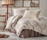 Lenjerie de pat Double Este Beige - Clasy, Crem