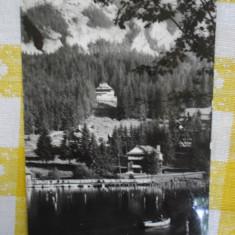 Lacul Rosu - vedere din statiune - vedere circulata 1964