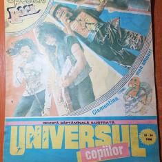 Revista universul copiilor nr. 33-34/ septembrie 1990  - numar dublu