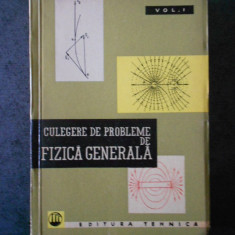 S. P. STRELKOV - CULEGERE DE PROBLEME DE FIZICA GENERALA volumul 1  (1962)