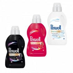 Pachet promo 3 x Perwoll Detergent lichid 900 ml 15 spalari Renew Advanced Black White Color