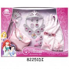 Set accesorii pentru fetite Disney 3 New, 12 piese, Roz
