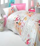 Cumpara ieftin Lenjerie de pat pentru copii Valentini Bianco model Beautifully
