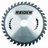 Cumpara ieftin Disc circular Raider, 190 х 25.4 mm, 40 T