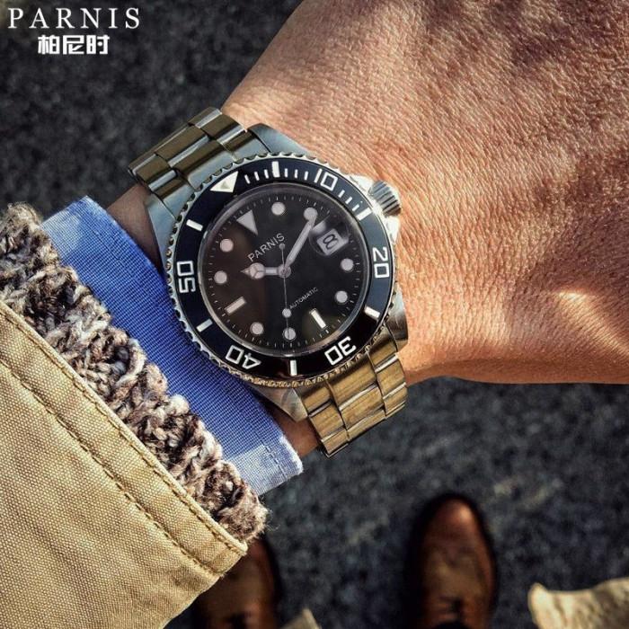 Ceas Parnis Submariner Automatic MIYOTA 8215 40mm/ seiko casio citizen orient