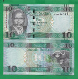 = SOUTH SUDAN - 10 POUND - 2016 - UNC    =