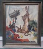 Tablou vechi- Adam Baltatu, Natura statica, Ulei, Realism