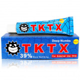 Crema Anestezica Tatuaje / Cosmetica 6% lidocaina - TKTX Blue - 10gr