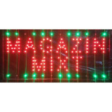 Reclama LED - MAGAZIN MIXT - de interior