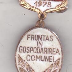 Bnk ins Insigna Fruntas in gospodarirea comunei 1978, Romania de la 1950