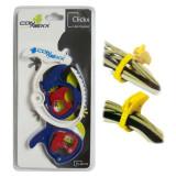 Cumpara ieftin Organizator cabluri ClickX, 5 bucati