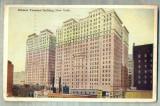 AD 342 C. P. VECHE-HUDSON TERMINAL BUILDING, NEW YORK -S.U.A.CIRCULATA1923RESITA, Franta, Circulata, Printata
