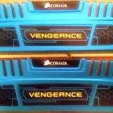 Kit Dual Channel Corsair 4GB (2 x 2GB), DDR3, 1600MHz, Radiator