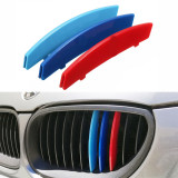 Emblema ornament plastic grila BMW MPower Seria 5 (E60,E61) 11 bare 2005-2010