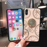 Husa pietricele + inel rotativ ' Clock '  Iphone X; Xs ; Xs Max ; XR