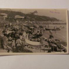 "Ilustrata Movila / Techirghiol / Carmen Sylva / Eforie Sud ""Plaja"" 1938"