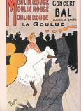 AFIS - Moulin Rouge La Goulue - Henri de Toulouse-Lautrec - REPRODUCERE