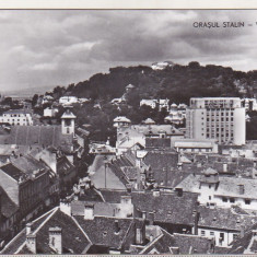 bnk cp Orasul Stalin - Vedere - necirculata