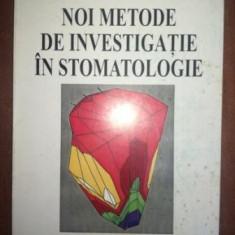 Noi metode de investigatie in stomatologie- Catalina Manac, Carmen Bucur
