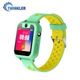 Ceas Smartwatch Pentru Copii Twinkler TKY-S6 cu Functie Telefon, Localizare GPS, Camera, Lanterna, Pedometru, SOS - Verde Jad