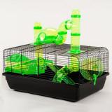 Cuşcă pentru hamster, JERRY I Fred + terasă
