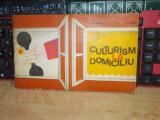 LAZAR BAROGA - CULTURISM LA DOMICILIU , EDITURA STADION , 1973