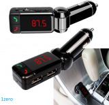Car Kit auto Bluetooth wireless modulator FM,Bluetooth MP3 player