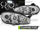 Faruri compatibile cu Mazda MX5 01-05 ANGEL EYES Crom