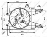 Ventilator radiator (cu carcasa) FIAT PUNTO; LANCIA Y 1.1 1.2 intre 1993-2003