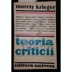 KRIEGER MURRAY - TEORIA CRITICII