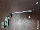 Modul alimentare incarcare usb HP DV6000 F700 f500 34AT8DB0017