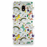 Husa Fashion Samsung Galaxy J4 2018 Glitter Unicorn