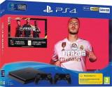 Consola Playstation 4 SLIM 500 GB + FIFA 20 + Extra Controller Wireless Dualshock 4 V2