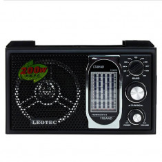 Radio portabil boxa Leotec LT-801 3W Maro