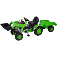 Tractor cu Pedale si Remorca Jim Loader