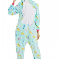 PJM171-48 Pijama intreaga kigurumi, model unicorn
